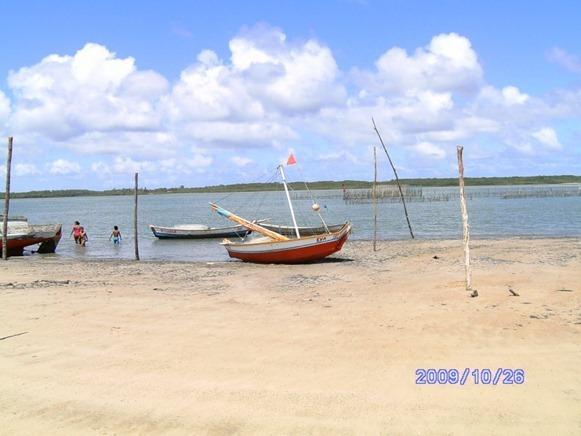 Praia de Camarà - Marapanim, foto: Nataly Rocha de Queiroz
