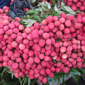 Lychees by Shishir Desai - Nature Up Close Gardens & Produce ( pwcvegetablegarden )