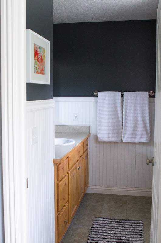 Master Bathroom Before and After (7)