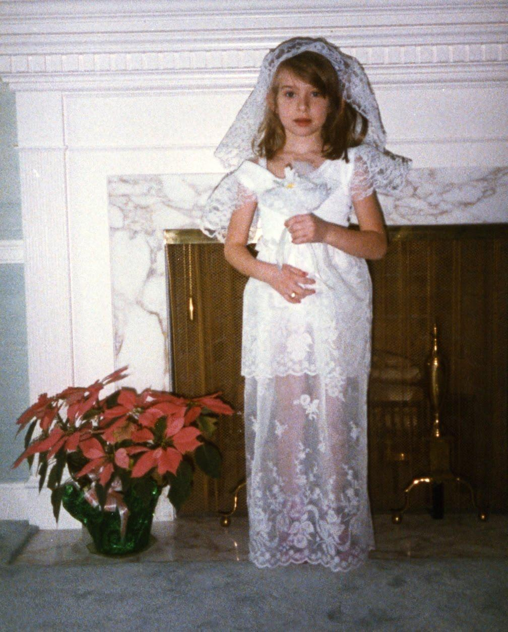 A Picture of My Wedding Dress!