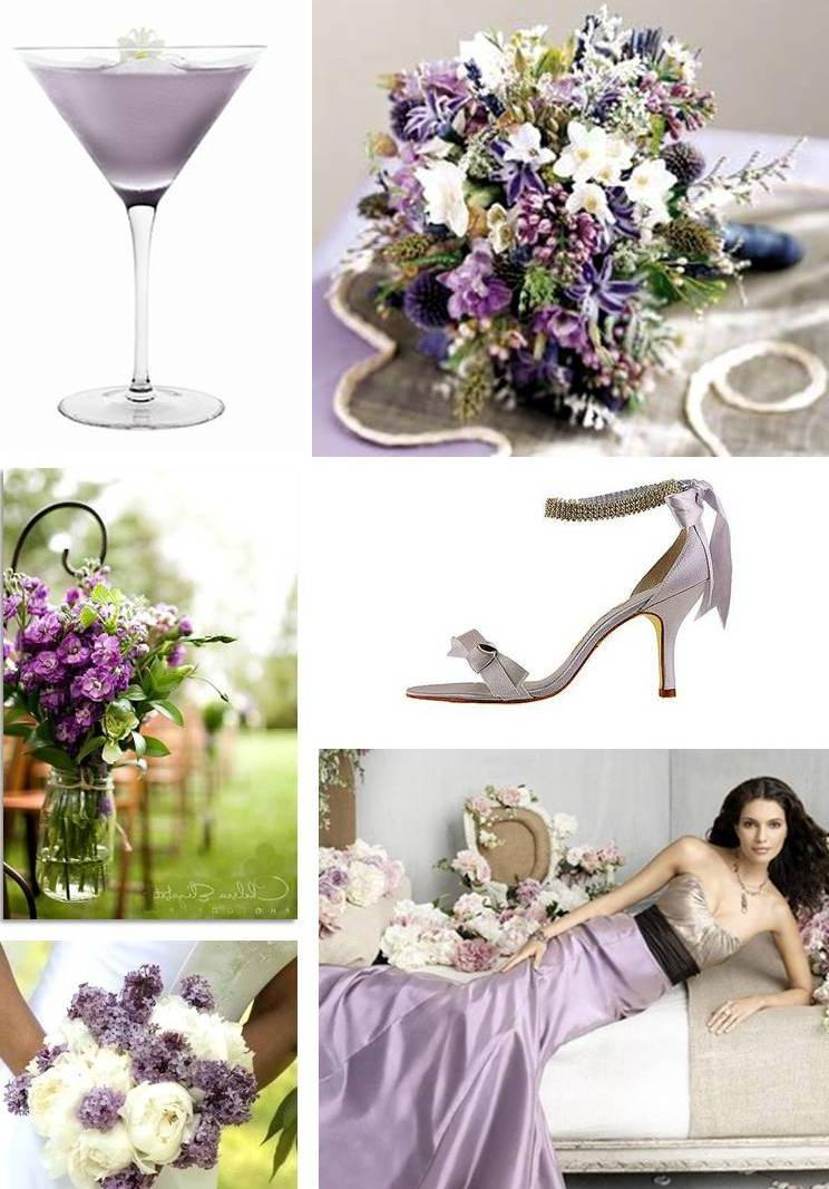 signature lilac wedding