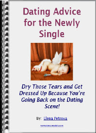 Cover of Elena Petrova's Book Dating Advice For The Newly Single