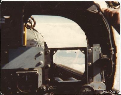 Jan 1979 inside the cockpit