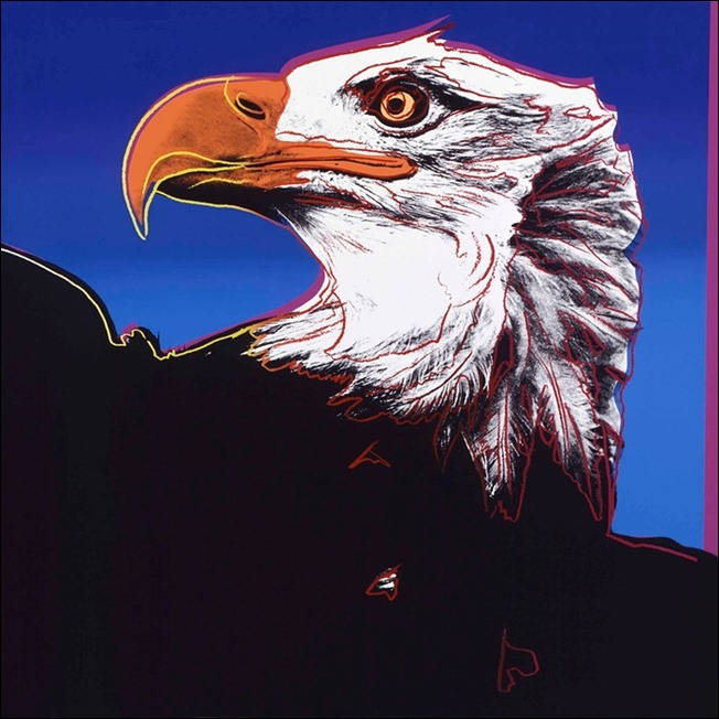 Andy Warhol - Endangered Species, Bald Eagle