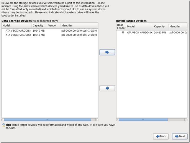 Install OS Screen 17