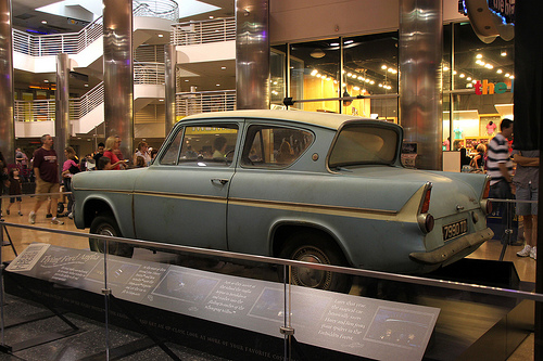 Light blue 1962 ?  Ford Anglia