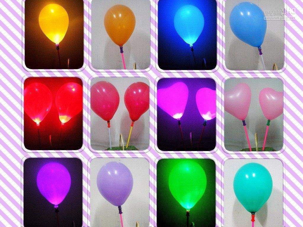 led balloon, flashing balloon,