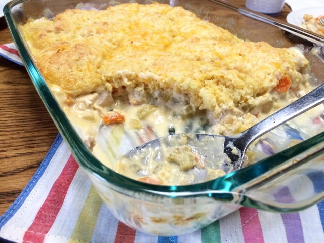 Chicken 'N Biscuit Casserole