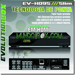 EVOLUTIONBOX EV 95 hd SLIM