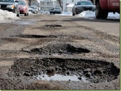mi potholes