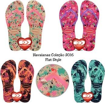 FLAT style havaianas