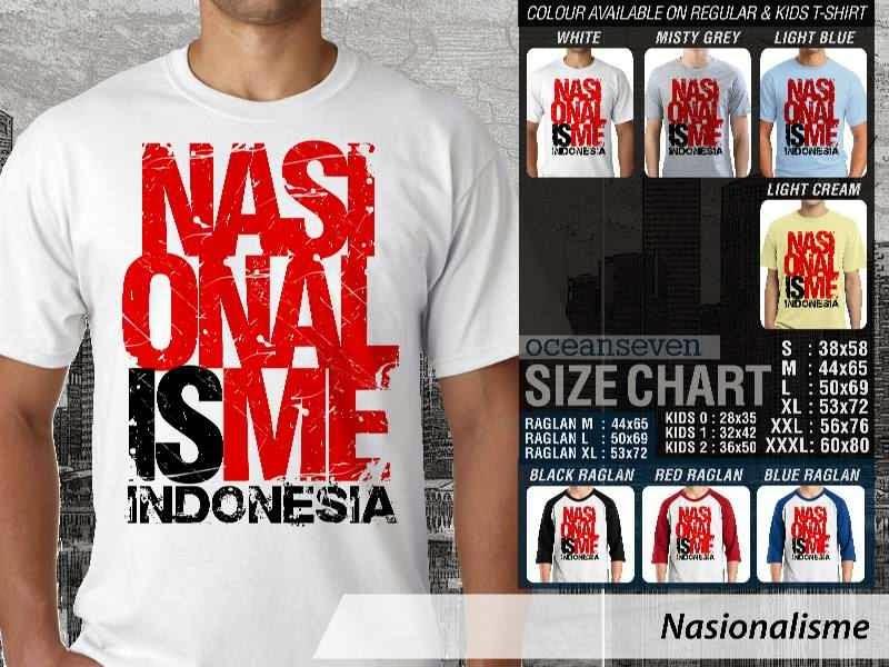 KAOS Indonesia Nasionalisme distro ocean seven