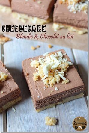 Cheesecake Blondie & Chocolat au Lait 5
