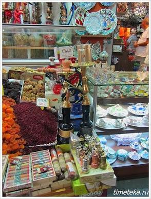 Рынок специй. Стамбул, Турция. www.timeteka.ru