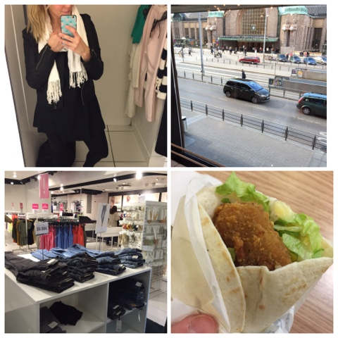 weekends, weekend, viikonloppu, viikonloput, peili selfie, selfie, mirror pic, mirror selfie, sovituskoppi, iphone, fitting booth, shoppailla, shopping, gina tricot, mäkki, mc donalds, wrap, cesar, caesar snack wrap,