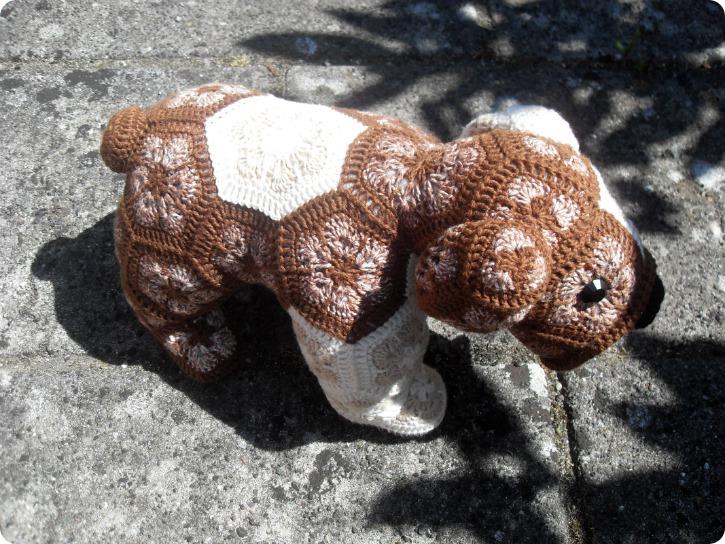 Max the bulldog