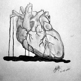 Heart by Neilstha Firman - Drawing All Drawing