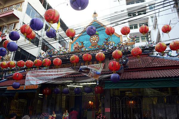 чайна таун бангкок китайский квартал