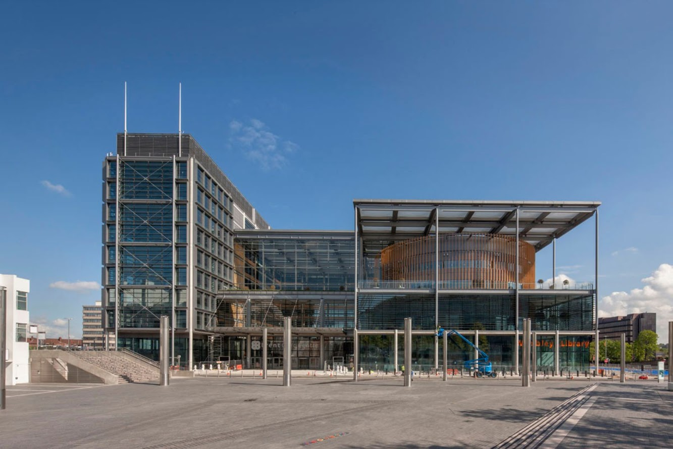 Brent Civic Centre by Hopkins Architects
