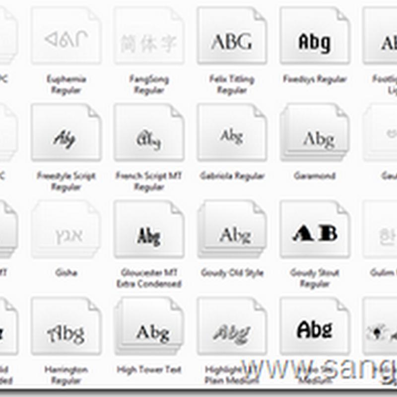 Cara Menambah Jenis Font pada Komputer