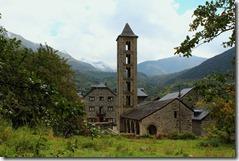 L'église d' Erill la Vall : retour pour déjeuner
