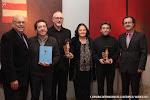 Premiados Trujamán y miembros del jurado con José Luis Ruiz del Puerto