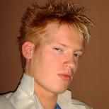new haircut at circa nightclub in Toronto, Ontario, Canada