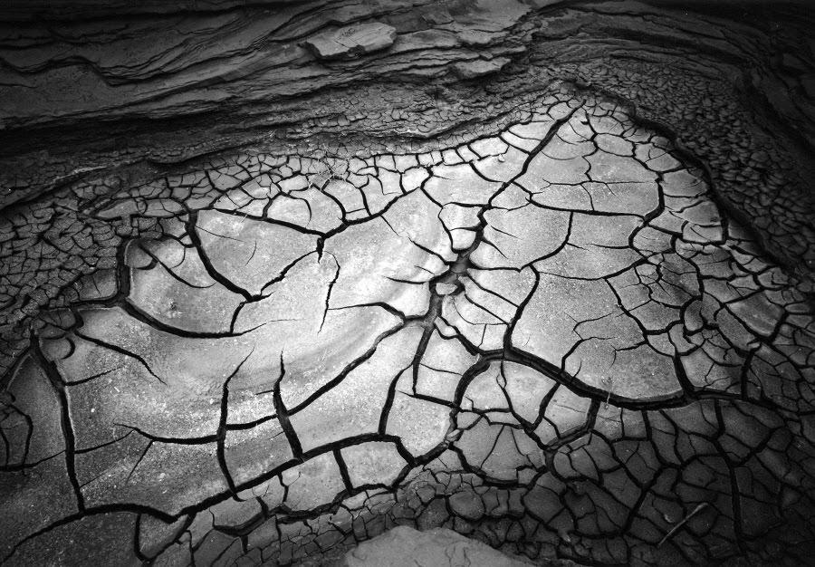 더스트림_Bob Kolbrener, Mud Cracks, 1986.tif