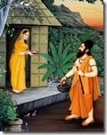 [pic of Ravana approaching Sita]