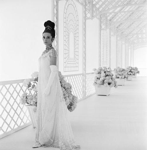audrey hepburn style wedding