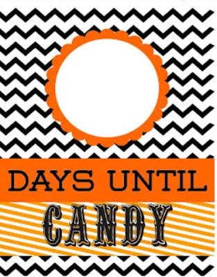 Countdown to Candy Printable