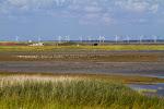 Wattenmeer - Vogelschutzgebiet und Windkraftanlagen