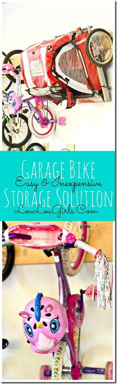 Easy-Inexpensive-Garage-Bike-Storage-Solution