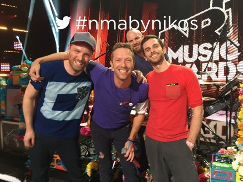 Coldplay 2015-11-07 NRJ Music Awards