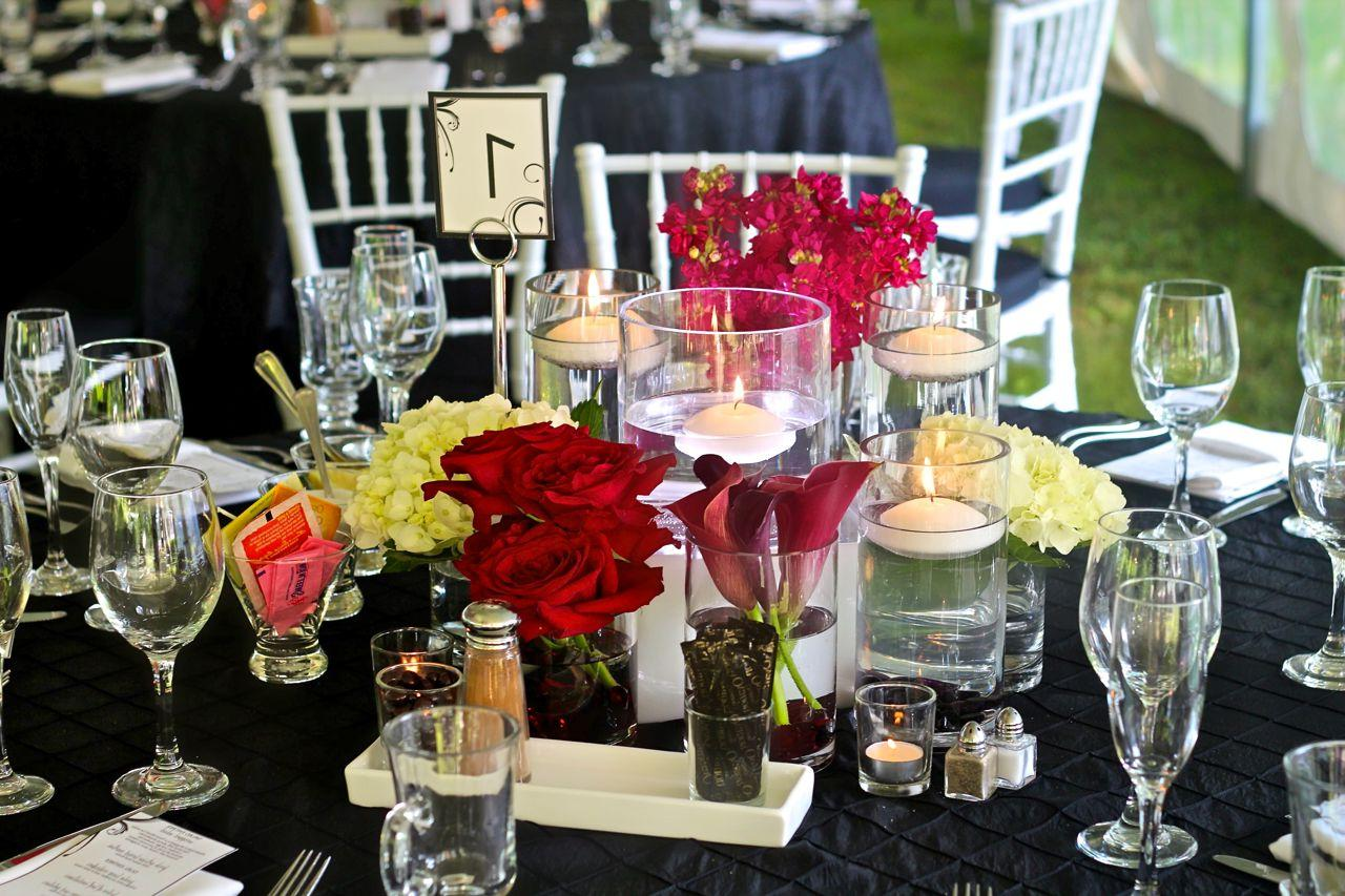 wedding centerpieces Floating candle centerpieces ideas for weddings