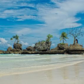 Bora Bora by Rman Alfred Lorenzo - Landscapes Beaches ( boracay beachshore, the magnifico photography, boracay island, bora island, groto )