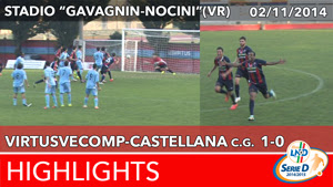 VirtusVecomp - Castellana - Highlights del 02-11-2014