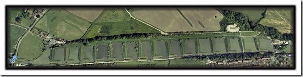 Caen Hill aerial