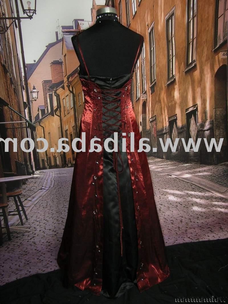 red wedding dress i