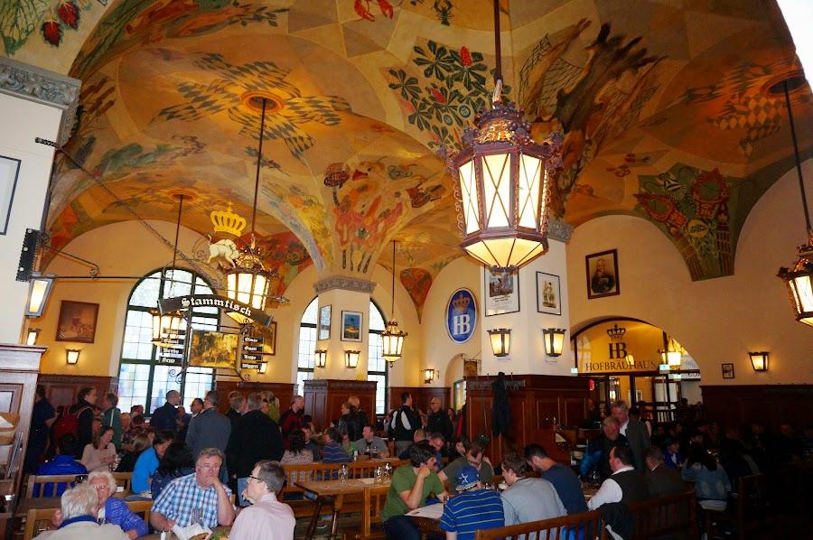 Ресторан Хофбройхаус в Мюнхене
