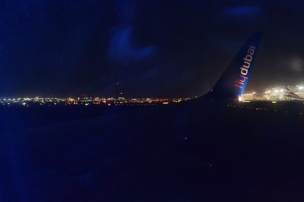 самолет, FlyDubai, крыло