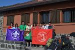 El Clan en el Refugio antes de volver a casa