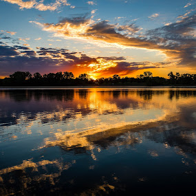 The Golden Hour by Mike Hotovy - Landscapes Sunsets & Sunrises (  )