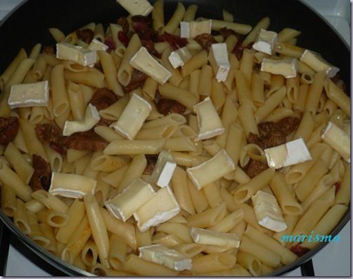 macarrones con senderuelas y queso brie6 copia