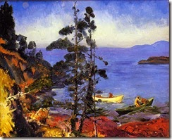 Evening_Blue_George_Wesley_Bellows