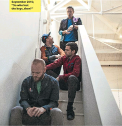 Q Magazine Coldplay 9-1