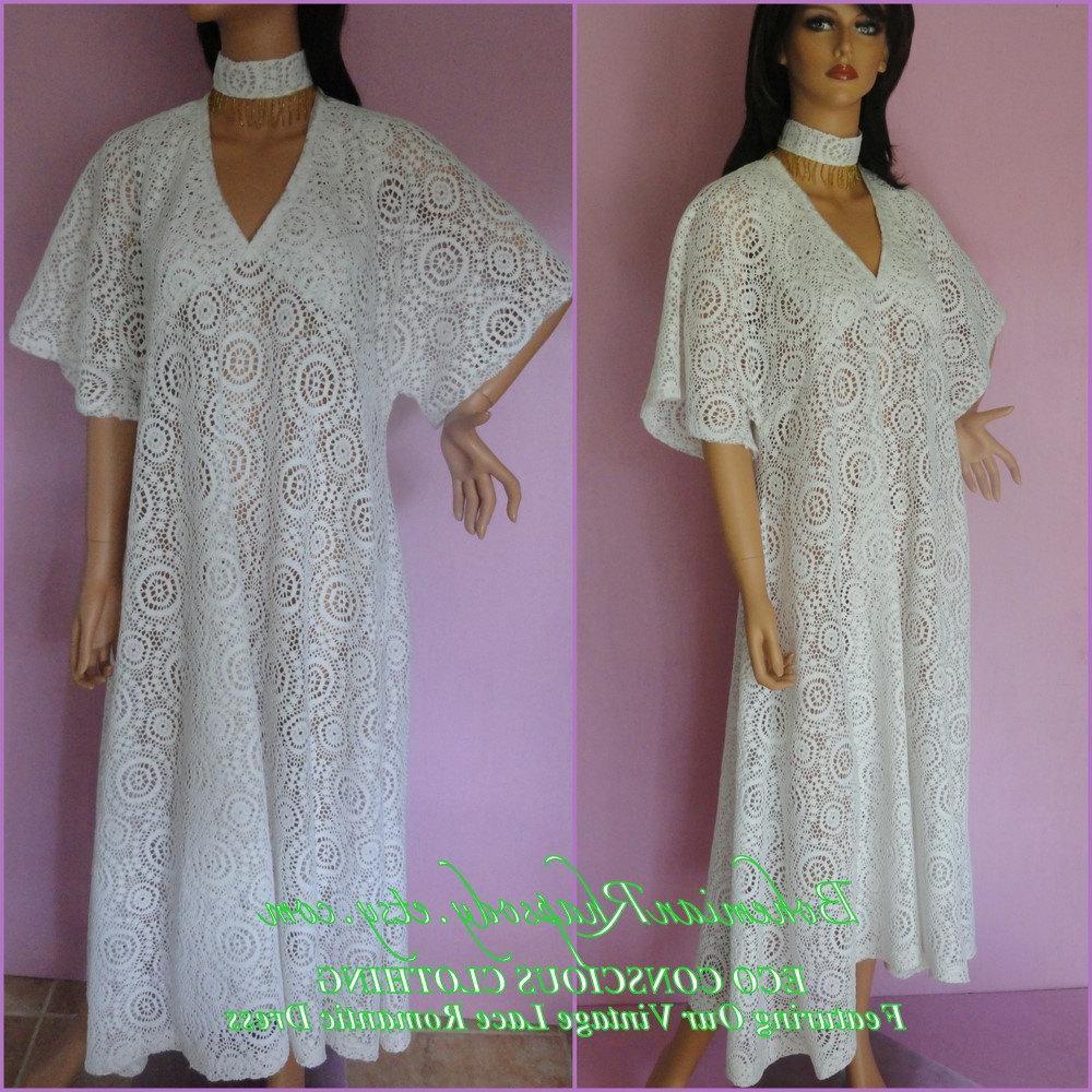 OOAK LACE Maxi Dress-Vintage