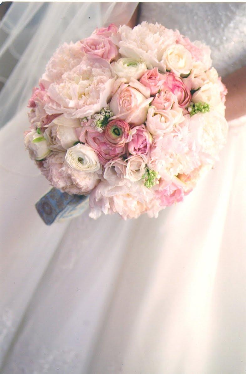 in my wedding bouquet: