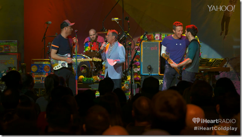 Coldplay iHeartRadio A Head Full Of Dreams album release party-11