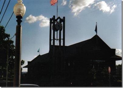 Kelso Depot on September 5, 2005